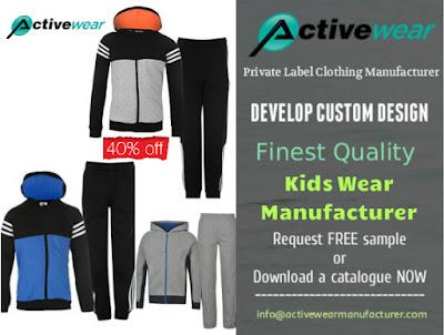 Kids fitness wear wholesale