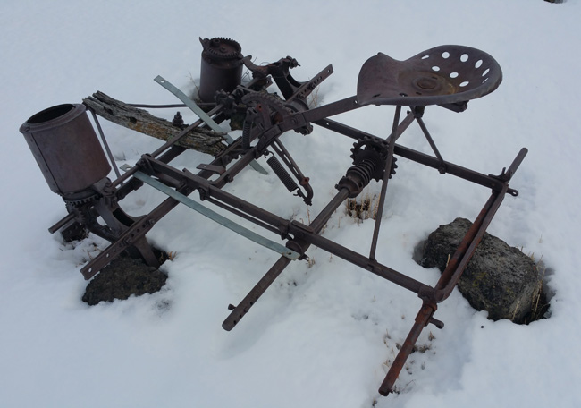 Abandoned artifacts in Ludlow Colorado Ghost Town