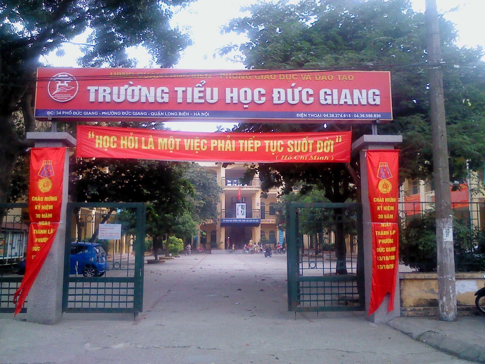 Tiểu học Đức Giang.