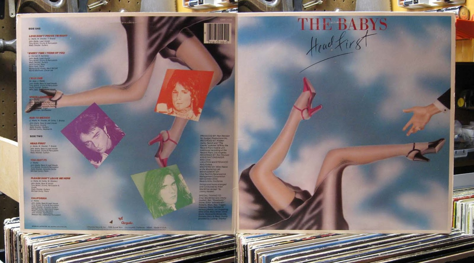 Curtis Collects Vinyl Records: The Babys - Head First   Hey