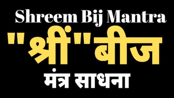धन की हर समस्या को दूर करने वाला मंत्र | Shrim Bij Mantra |