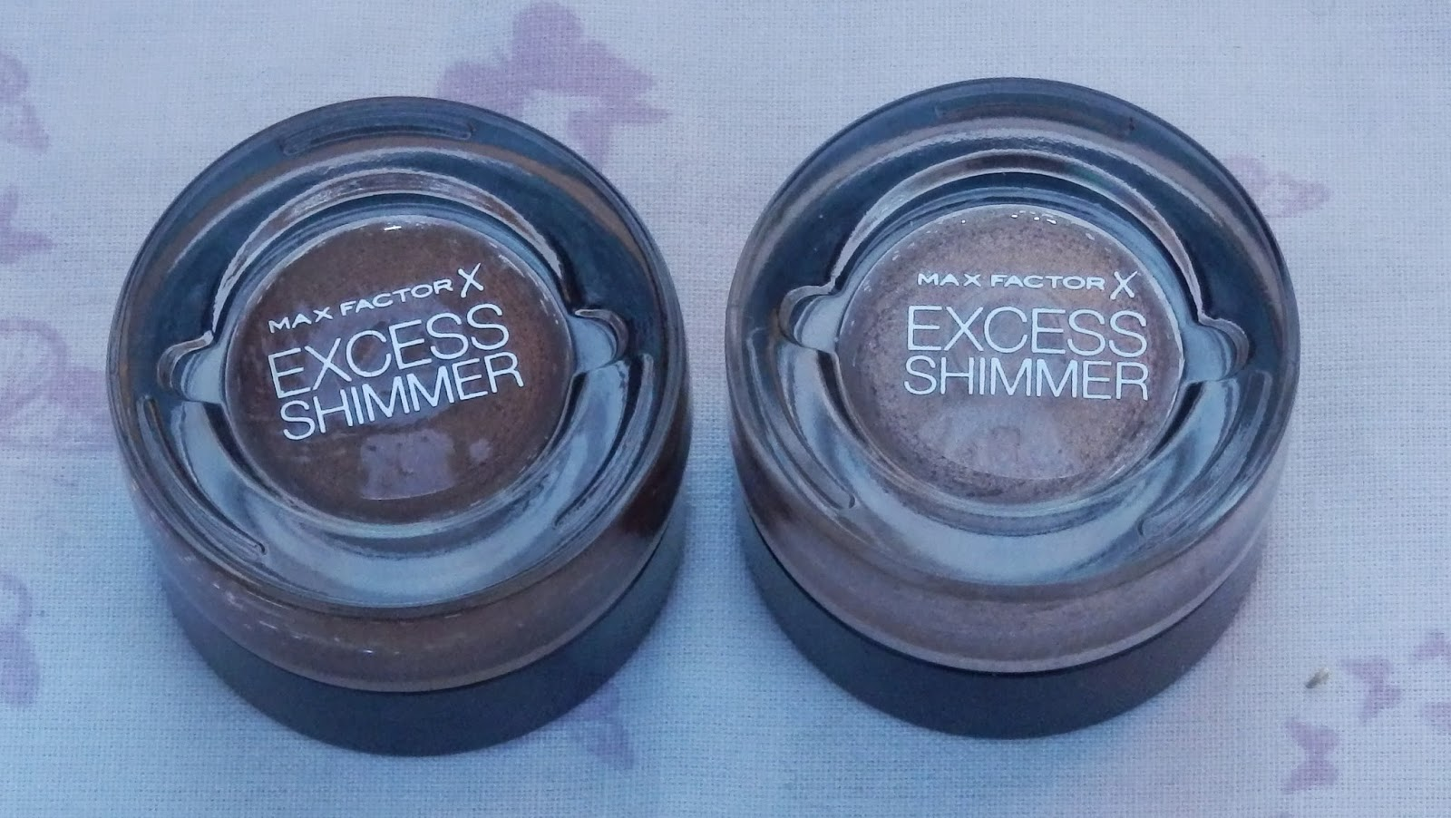 Max Factor Excess Shimmers in Bronze & Copper
