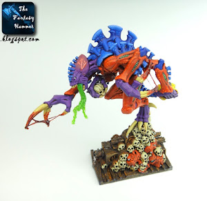 Tyranids Broodlord from Space Hulk in Behemoth colour scheme
