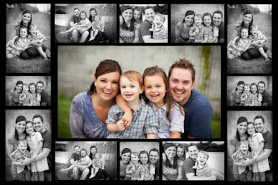 Fathers' Day Photo Collage Free Printable-Father's Day  Gift