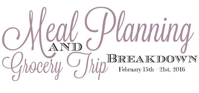 weekly meal plans with links to recipes on a $50 weekly grocery budget, meal plans, grocery shopping on a budget