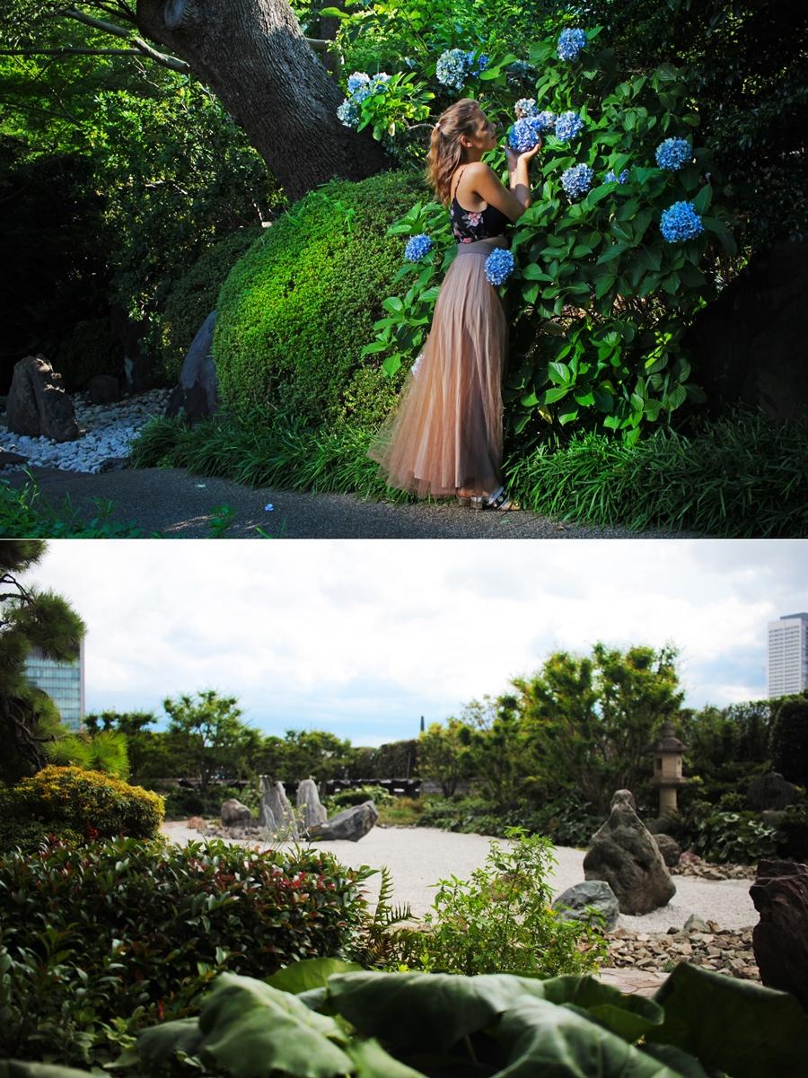 japan gärten blumen