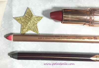 Red Carpet Red lipstick, Wonder Glow, Rock N Kohl, lip cheat