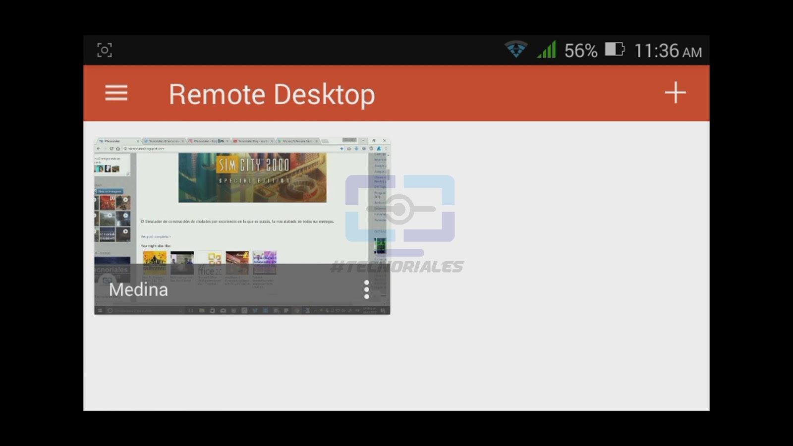 Tutorial escritorio remoto de windows en tu smartphone for Conexion escritorio remoto windows 8