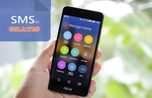 Kirim SMS Gratis dengan Hp Android