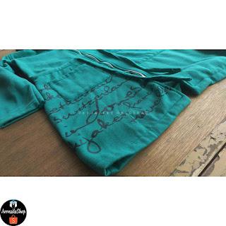 ORIGINAL Hijacket Urbanashion Turquoise Hijab Jaket Muslimah TURKISH