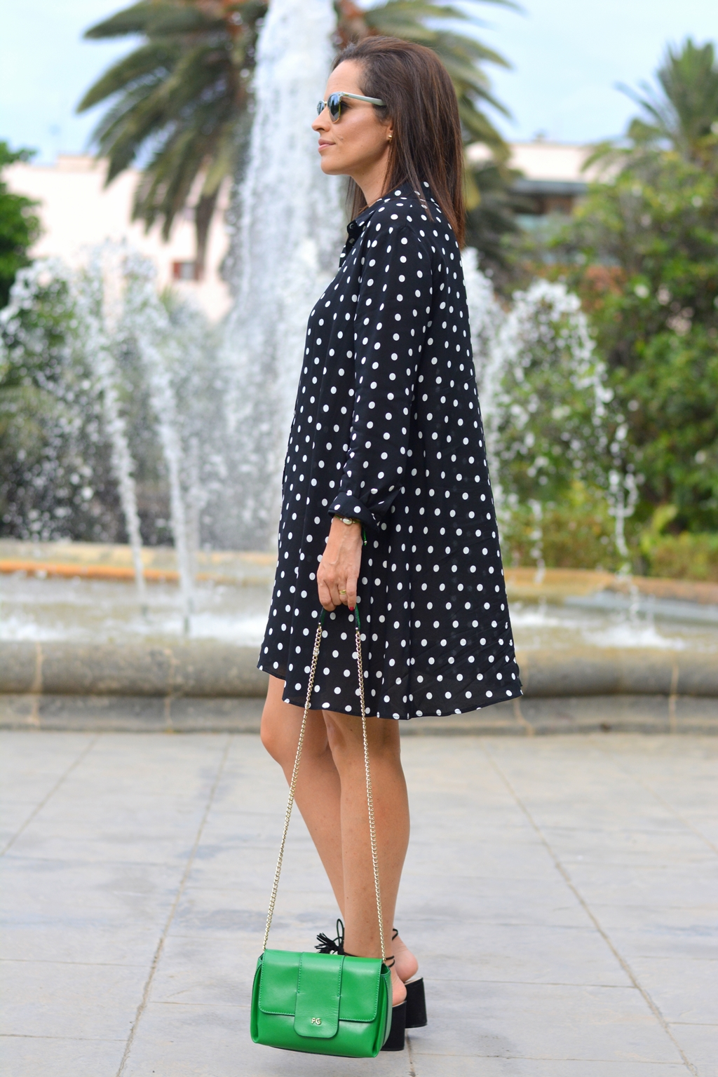 polka-dots-zara-dress-outfit