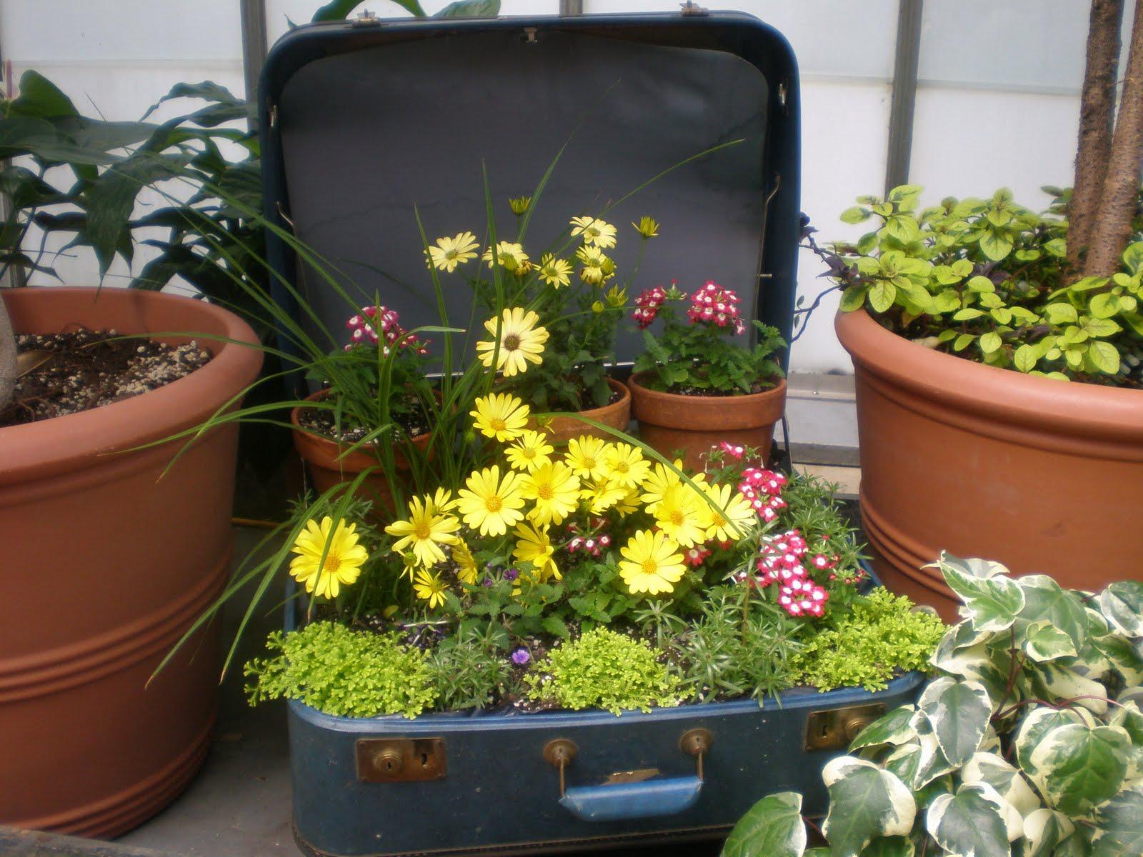 Garden Decorating Ideas: The Rusty Relic: Garden Decorating Ideas