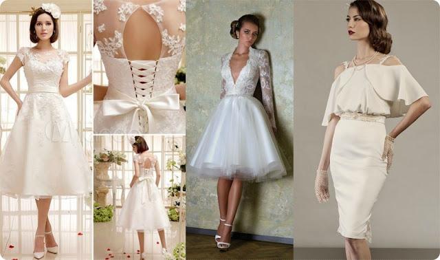 vestido de noiva retrô