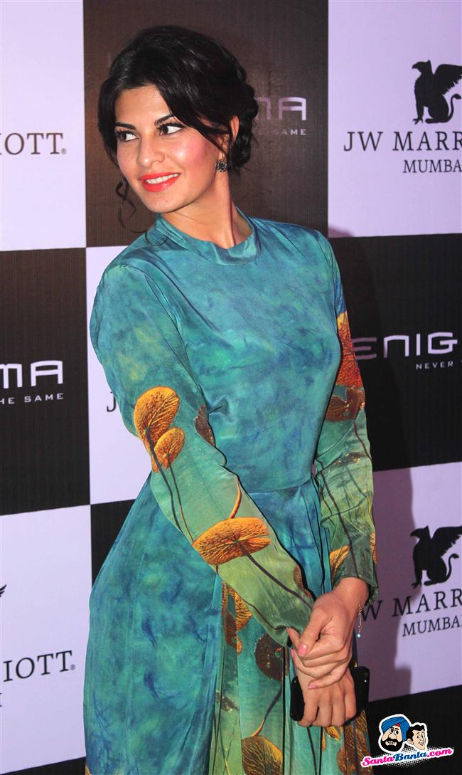 Jacqueline fernandez at the enigma launch