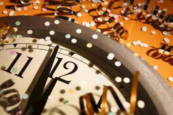 oudejaarsavond gelukkig nieuwjaar