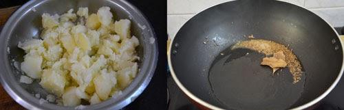 how to make dahi aloo