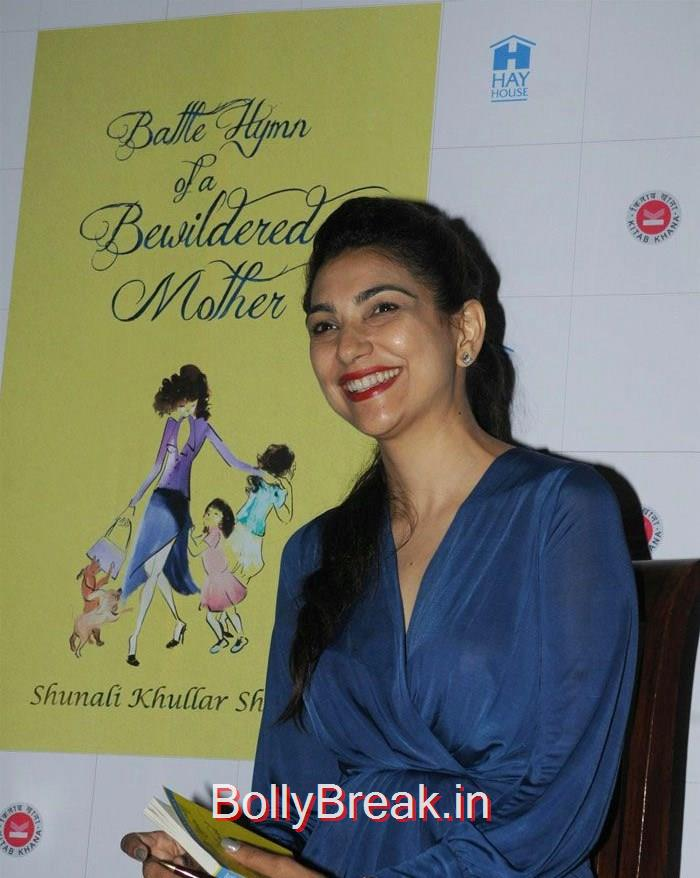 Shunali Khullar Shroff, Tara Sharma, Perizaad Zorabian at 'Battle Hymn of a Bewildered Mother' Book Launch