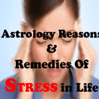 stress remedies through astrology, reasons of tension and solution in jyotish
