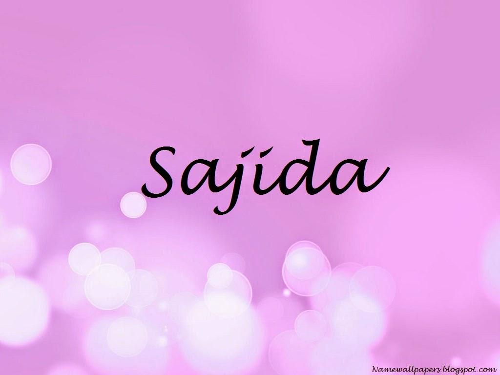 Hema Name 3d Wallpaper Sajida Name Wallpapers Sajida Name Wallpaper Urdu Name