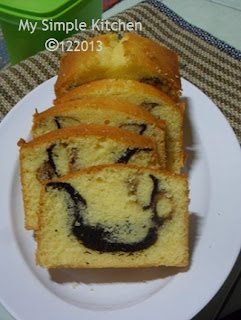 Simple Marble cake