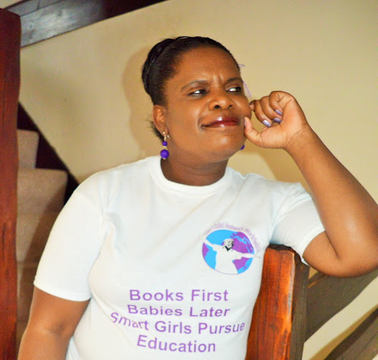 Sandra Nelson gives a boost to our Empowering Girls, Powering Nations Campaign