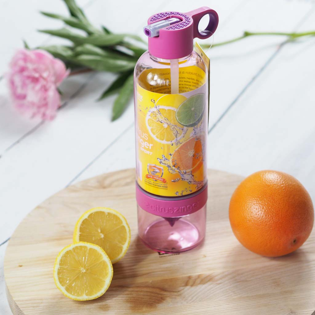 citruszinger infuse water bottle