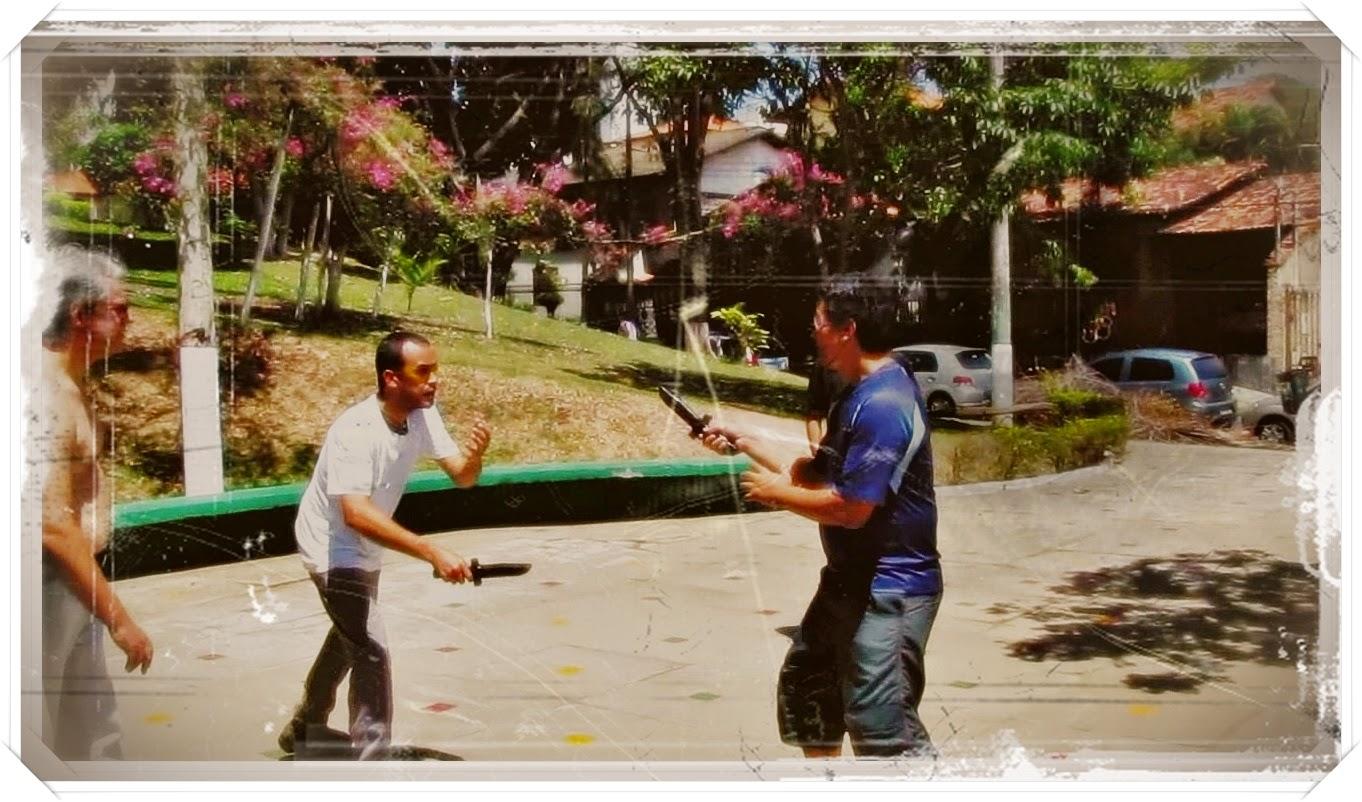Kali MG - treinamento combate faca