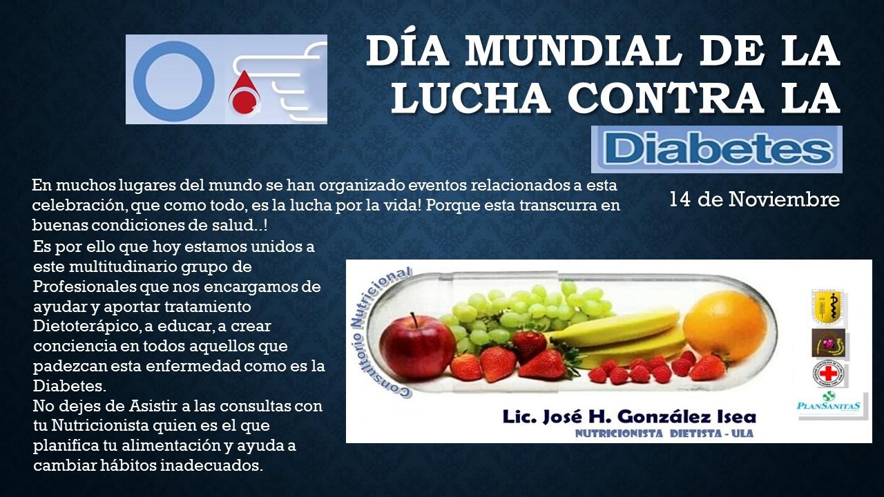 Nutriconsulta d a mundial de la lucha contra la diabetes - Alimentos contra diabetes ...