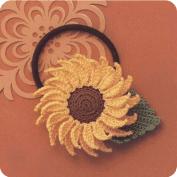 Coleta Girasol a Crochet