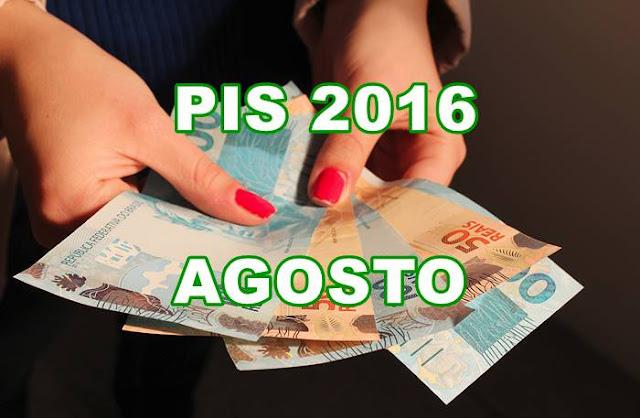 PIS 2016 Agosto