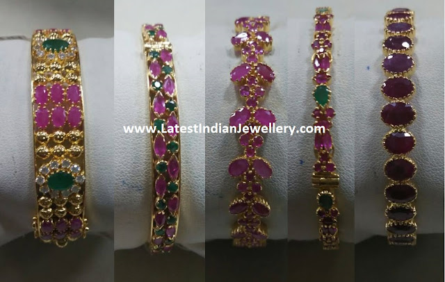 Ruby Bangles Collection