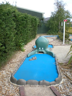 Mini Golf at The Golden Palm Resort Skegness