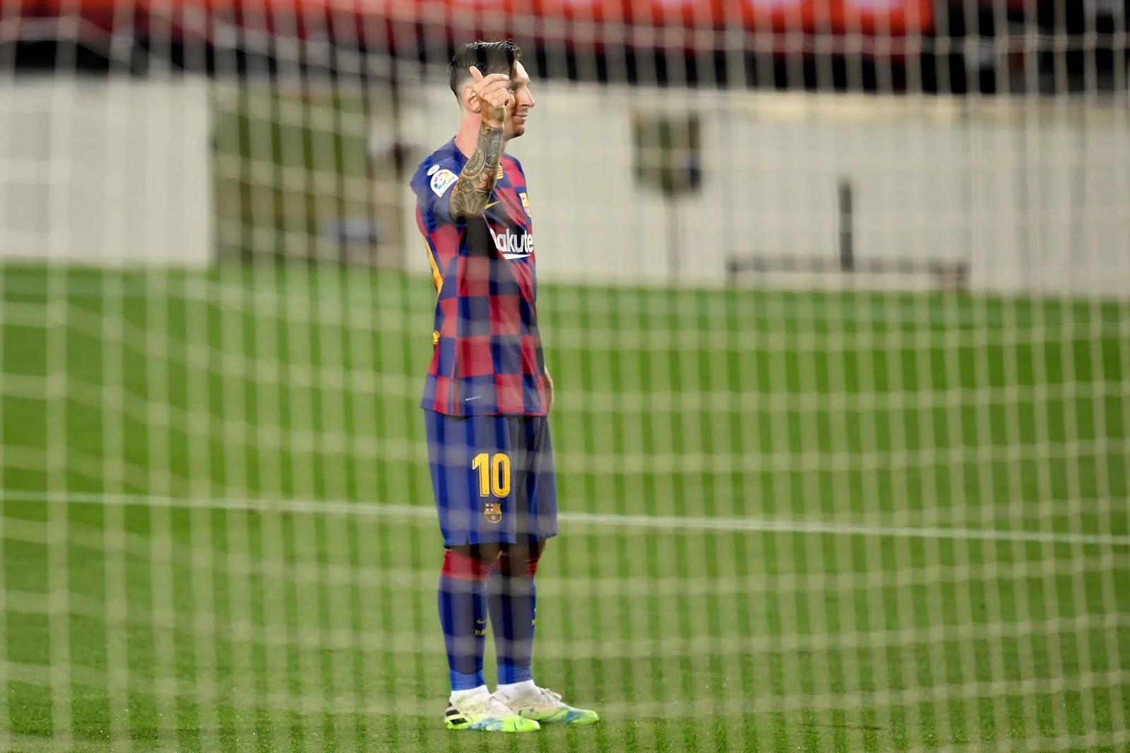 Messi llegó al gol 700