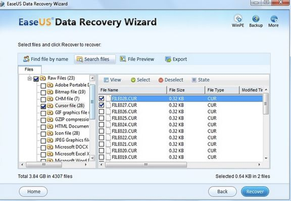 launch easeus data recovery wizard for mac