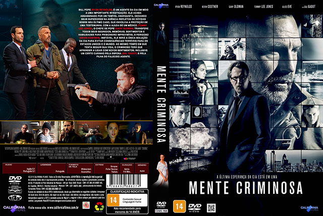 Mente Criminosa DVD-R