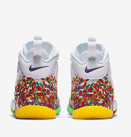 44fb482c94d Here is the 2017 version of the  Fruity Pebbles  Foamposite Available  HERE