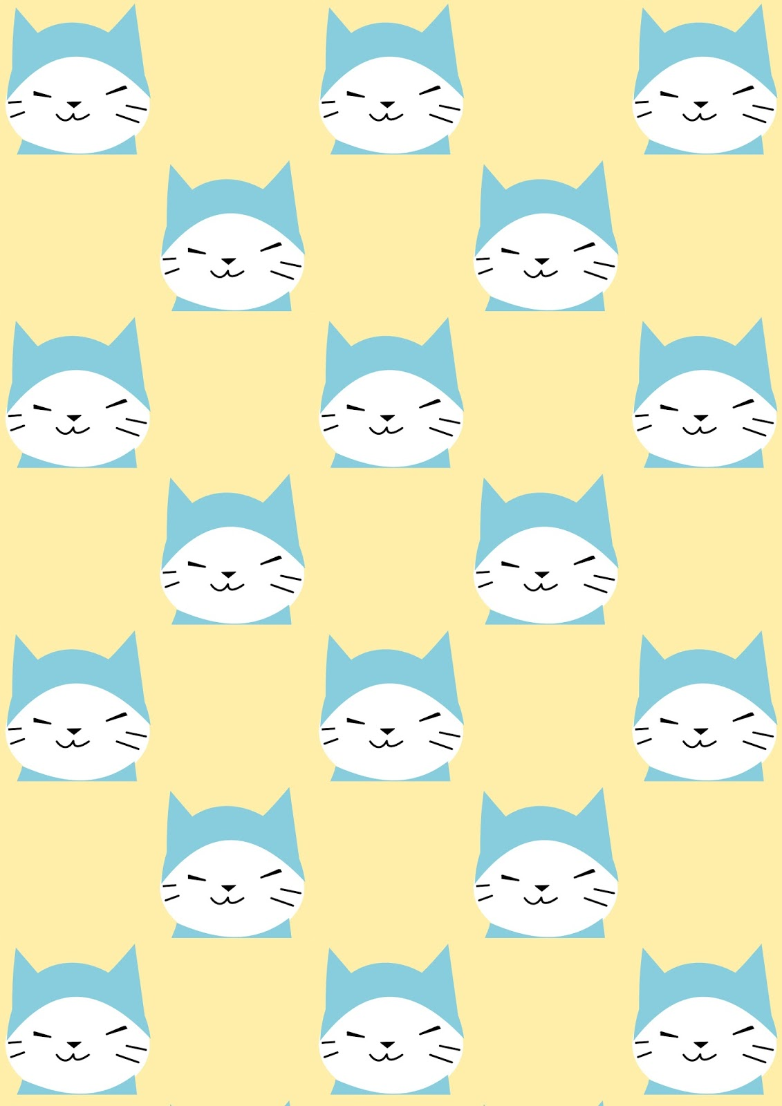 Cat In The Hat Digital Paper