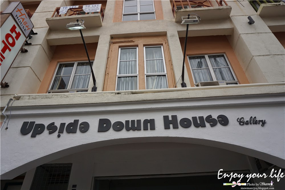 Upside Down House Gallery At Melaka Snowman Sharing