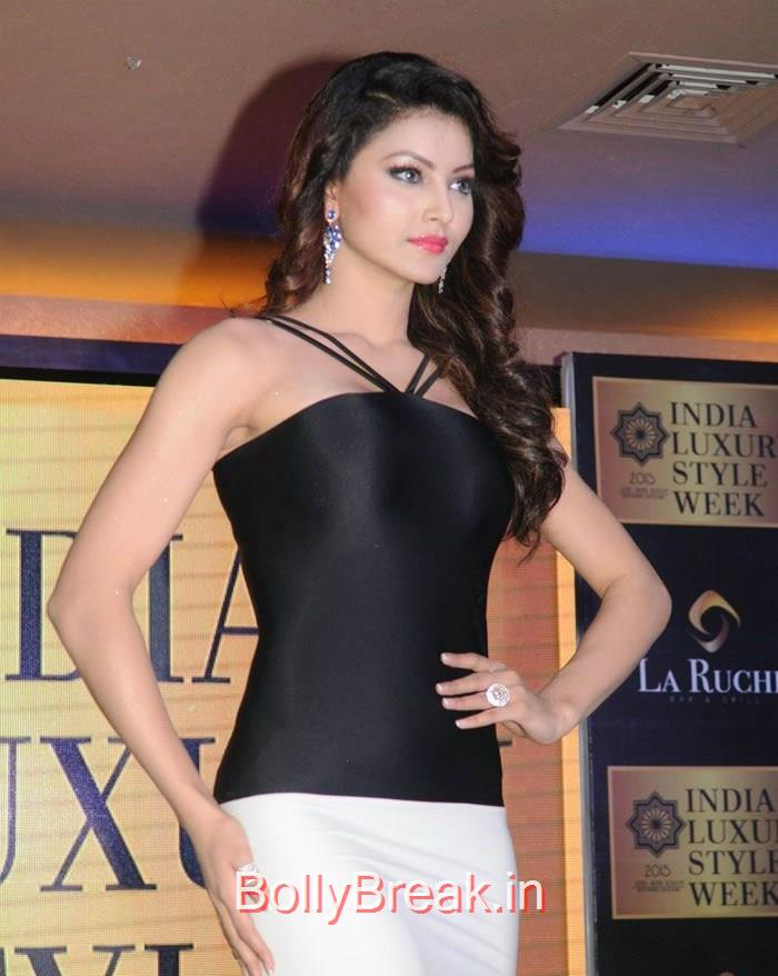 Urvashi Rautela, Zareen Khan Urvashi Rautela Hot Pics At India Luxury Style Week 2015 Announcement