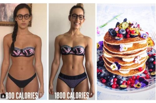 Body Without Counting Calories Starving
