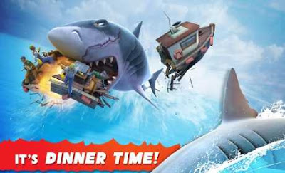 download game offline android hungry shark evolution apk mod