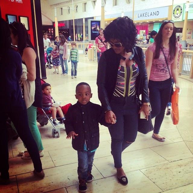 mercy aigbe kids vacation london