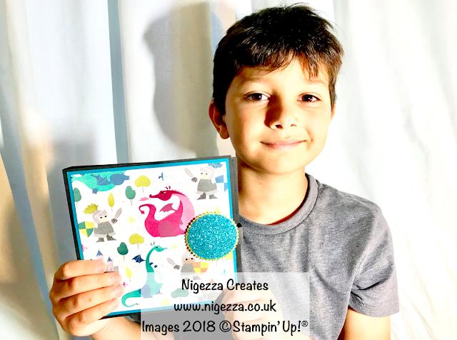 Crafting with William: Waterfall Photo Album Nigezza Creates