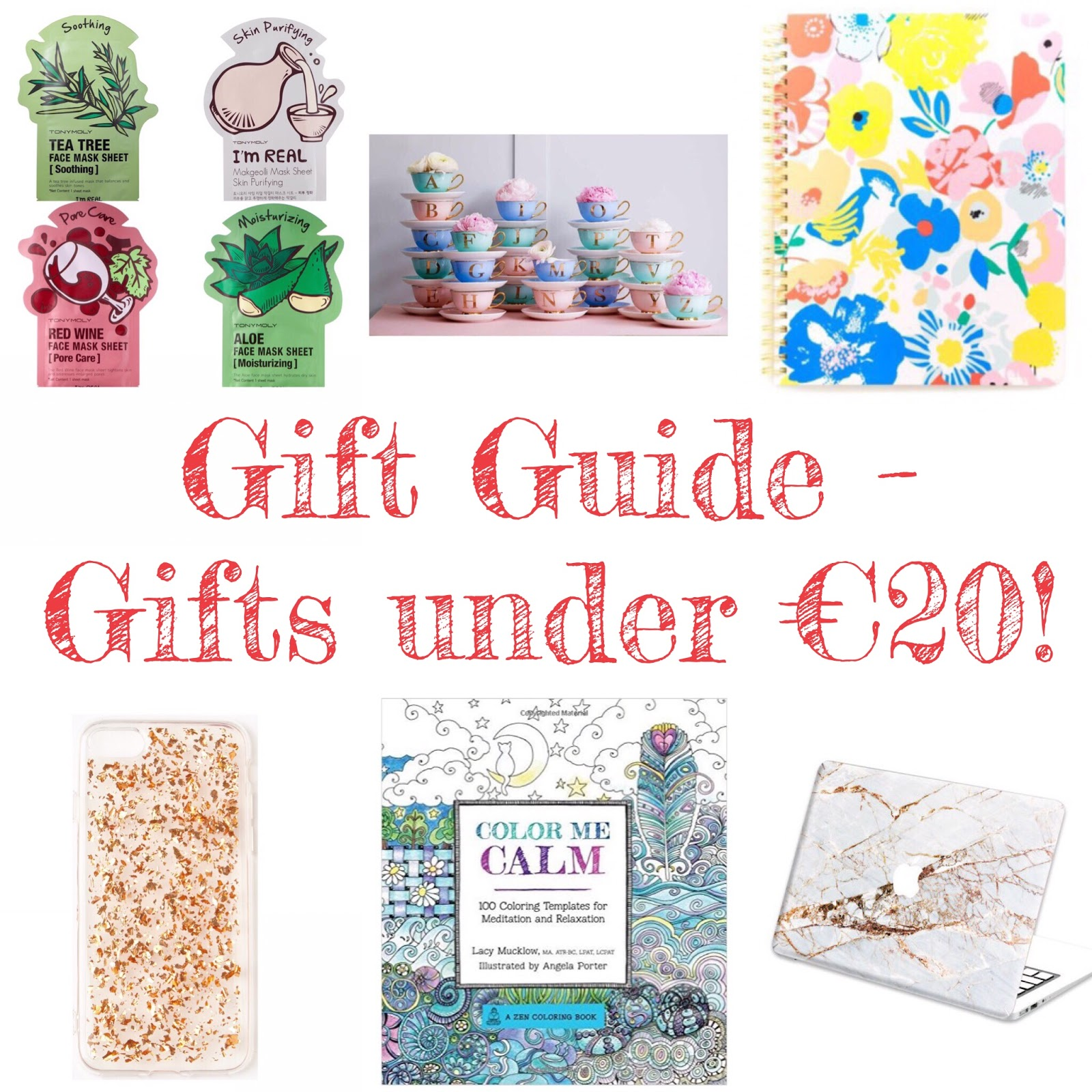 Christmas Gift Guide - Gifts UNDER €20 | Stocking Fillers & Kris ...