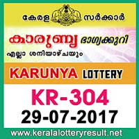 kl result yesterday,lottery results, lotteries results, keralalotteries, kerala lottery, keralalotteryresult, kerala lottery result, kerala lottery result live, kerala lottery results, kerala lottery today, kerala lottery result today, kerala lottery results today, today kerala lottery result, kerala lottery result 29 7 2017 karunya lottery kr 304, karunya lottery, karunya lottery today result, karunya lottery result yesterday,  karunya lottery kr304, karunya lottery 29.7.2017