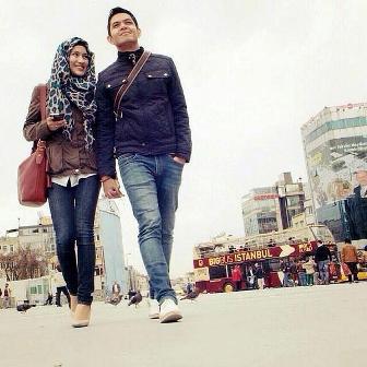 Gambar pasangan artis paling cucok dude-Alissa