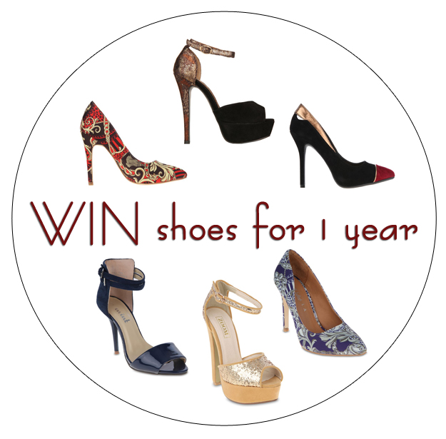WIN Shoes for 1 Year!!!!
