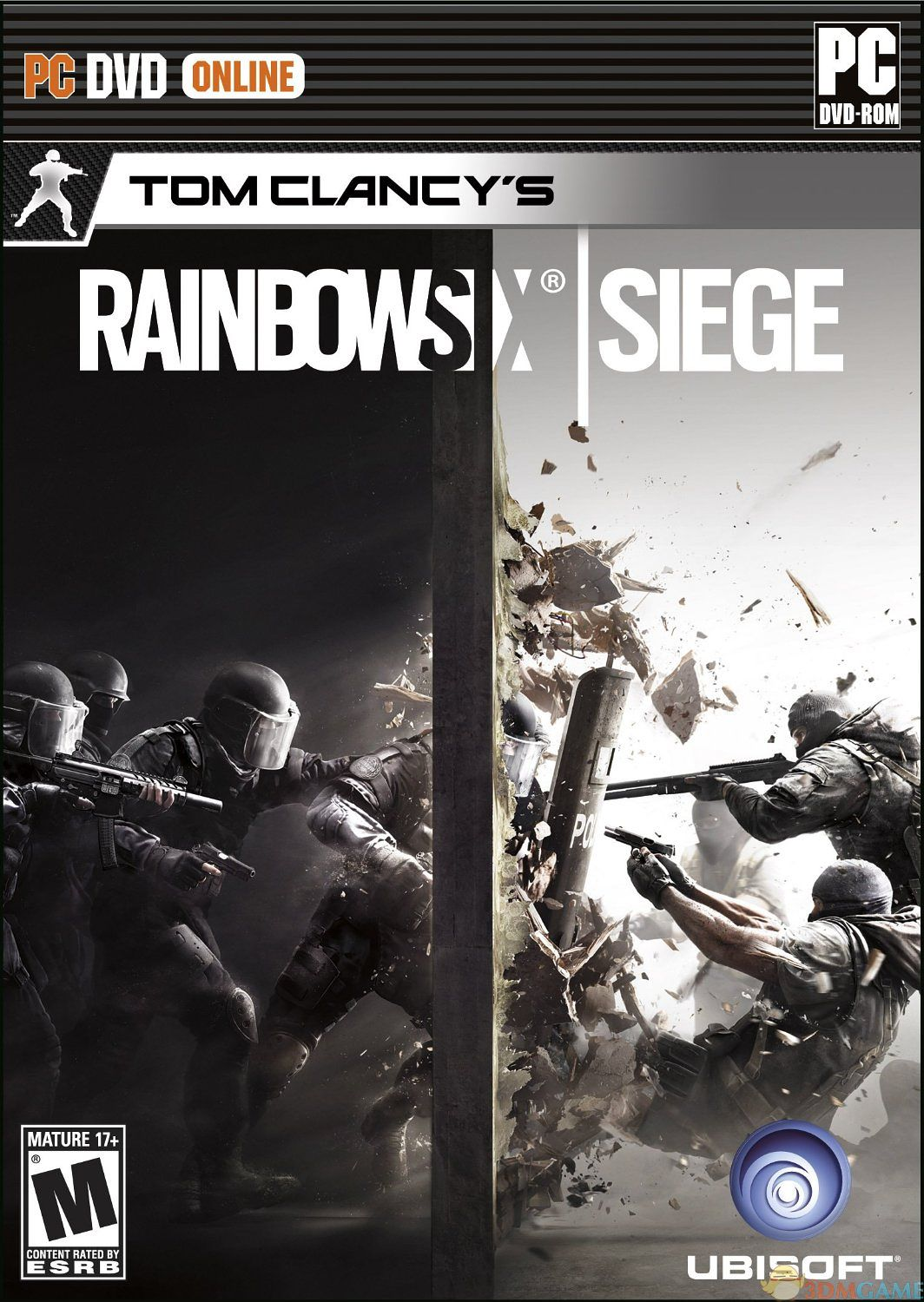 Tom Clancy's Rainbow Six Siege ESPAÑOL PC Full Cover Caratula