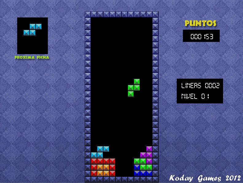 Dev C Y Allegro Nuevo Juego Tetris