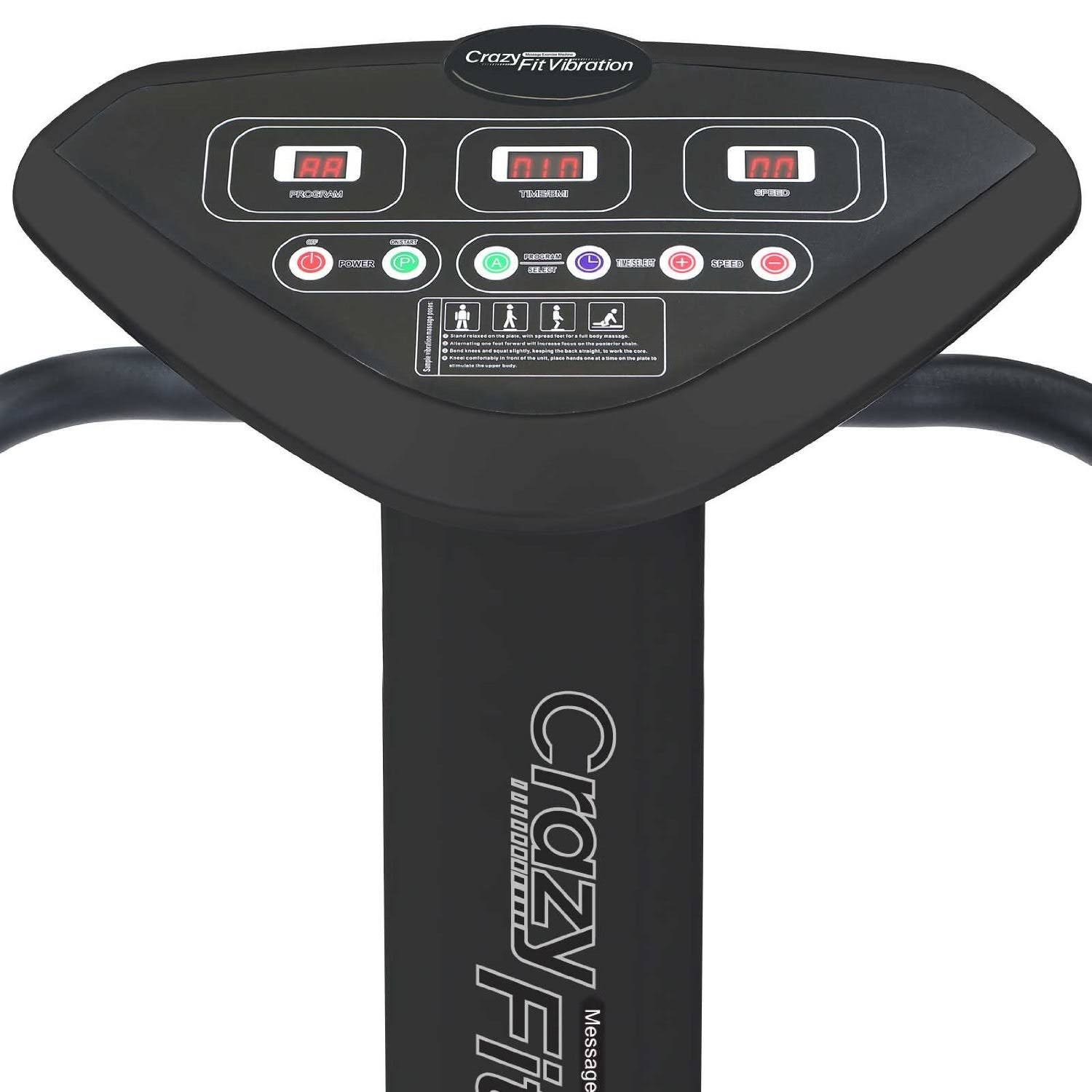 Health and Fitness Den: Crazy Fit Vibration Plate Pro ...